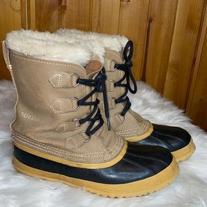 Sorel Caribou Winter Snow Boots 8